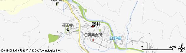 神奈川県相模原市緑区澤井170周辺の地図