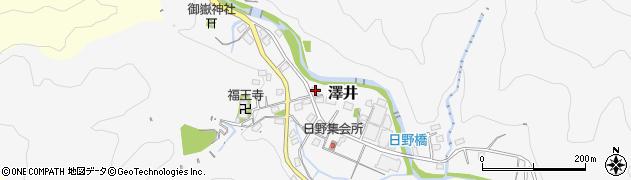 神奈川県相模原市緑区澤井214周辺の地図