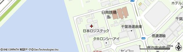千葉県浦安市千鳥周辺の地図