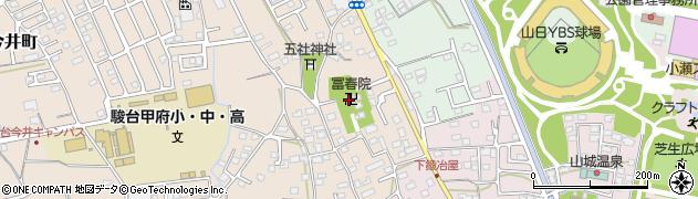 冨春院周辺の地図