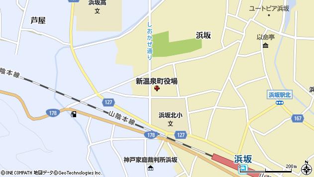 〒669-6700 兵庫県美方郡新温泉町(以下に掲載がない場合)の地図