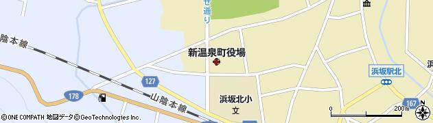 兵庫県新温泉町(美方郡)周辺の地図