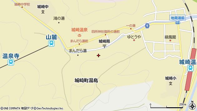〒669-6101 兵庫県豊岡市城崎町湯島の地図