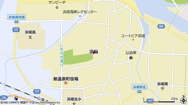 〒669-6702 兵庫県美方郡新温泉町浜坂の地図