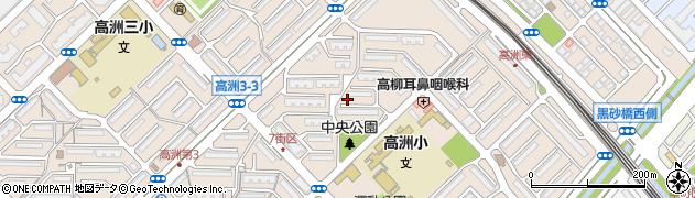 千葉県千葉市美浜区高洲2丁目7周辺の地図