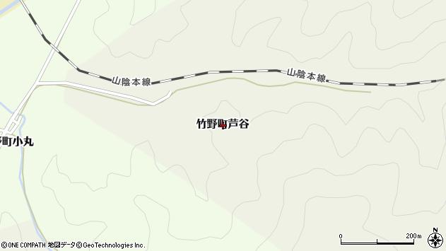 〒669-6223 兵庫県豊岡市竹野町芦谷の地図