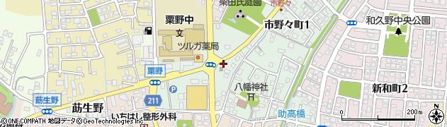 福井県敦賀市市野々町周辺の地図