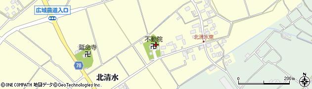 不動院周辺の地図