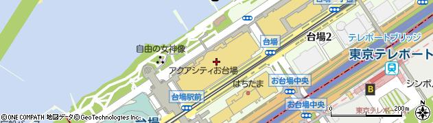阿里城周辺の地図