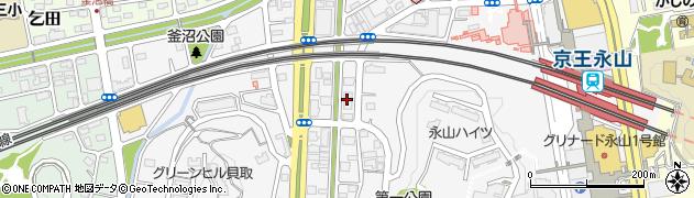 銀のさら 多摩ニュータウン店周辺の地図