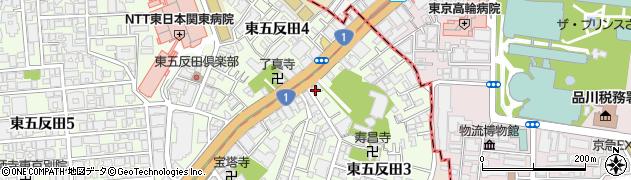 五反田マンション周辺の地図