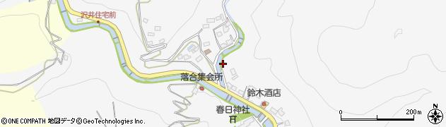 神奈川県相模原市緑区澤井周辺の地図