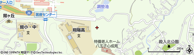 東京都八王子市館町周辺の地図