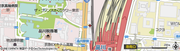 ホルモン焼肉路地や周辺の地図