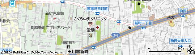 善養院周辺の地図