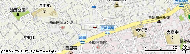 東京都目黒区目黒周辺の地図