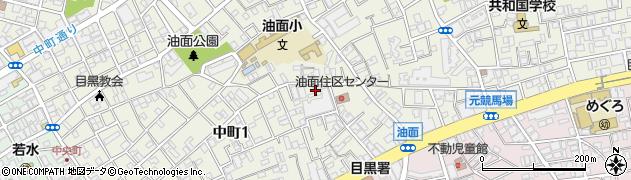 日本たばこ産業アパート周辺の地図