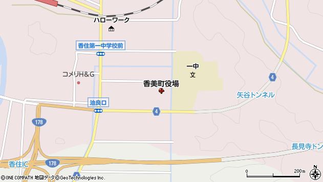 〒669-6500 兵庫県美方郡香美町(以下に掲載がない場合)の地図
