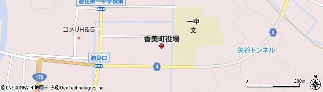 兵庫県香美町(美方郡)周辺の地図