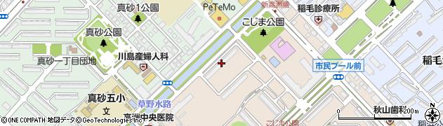 千葉県千葉市美浜区高洲4丁目4-2周辺の地図