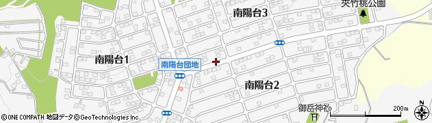 東京都八王子市南陽台周辺の地図