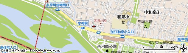 仏寿寺周辺の地図