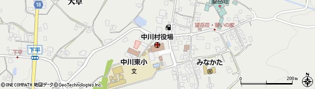 長野県中川村(上伊那郡)周辺の地図