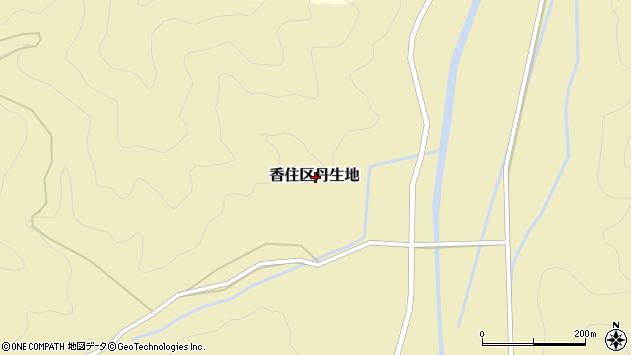 〒669-6416 兵庫県美方郡香美町香住区丹生地の地図