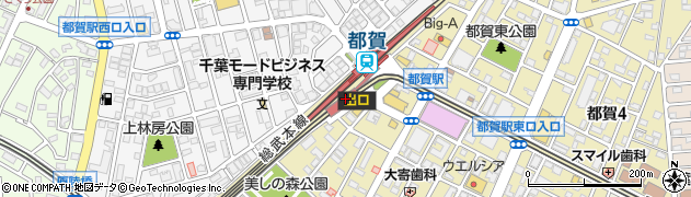 千葉県千葉市若葉区周辺の地図