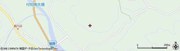岐阜県中津川市付知町(中野)周辺の地図