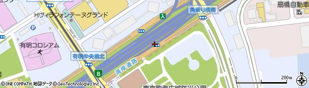 有明出口周辺の地図