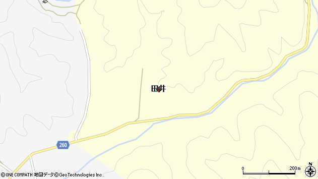 〒669-6713 兵庫県美方郡新温泉町田井の地図