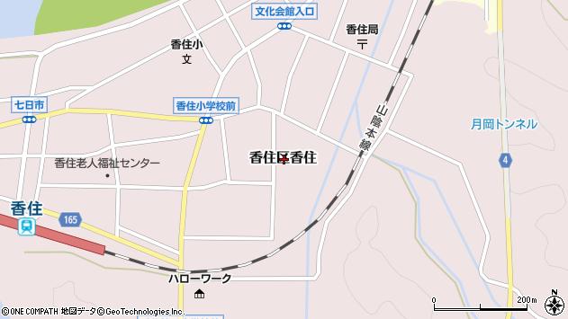 〒669-6544 兵庫県美方郡香美町香住区香住の地図