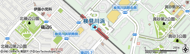 千葉県千葉市美浜区周辺の地図