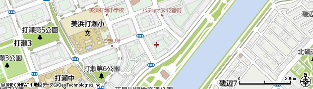 幕張サウスコート周辺の地図