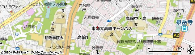 丸山神社周辺の地図