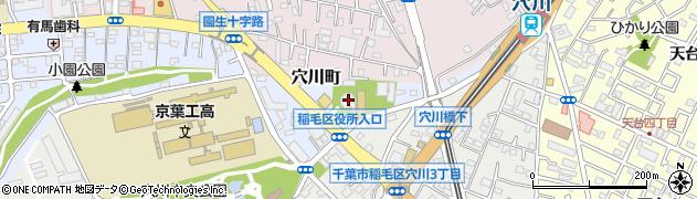千葉光明寺周辺の地図