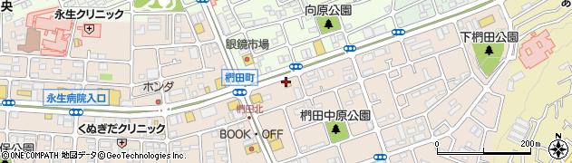 シャトレーゼ めじろ台店周辺の地図