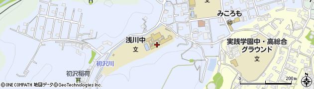 東京都八王子市初沢町1370周辺の地図
