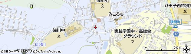 東京都八王子市初沢町1324周辺の地図
