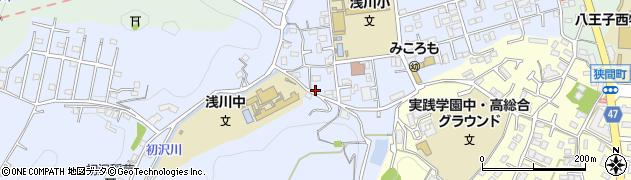 東京都八王子市初沢町1329周辺の地図