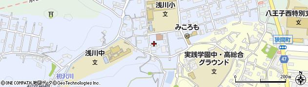 東京都八王子市初沢町1332周辺の地図