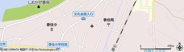 香住区中央公民館周辺の地図