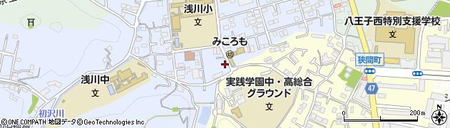 東京都八王子市初沢町1313周辺の地図