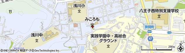 東京都八王子市初沢町1310周辺の地図
