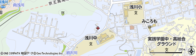 東京都八王子市初沢町1455周辺の地図