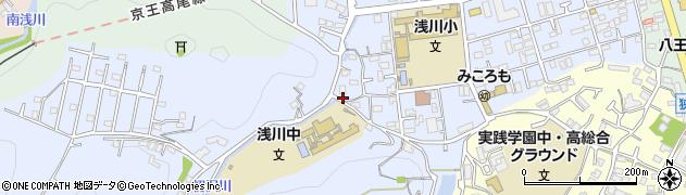 東京都八王子市初沢町1365周辺の地図