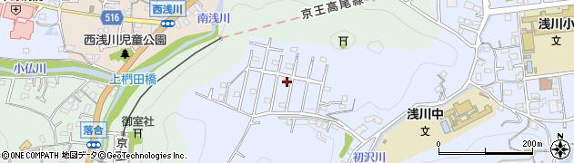 東京都八王子市初沢町周辺の地図
