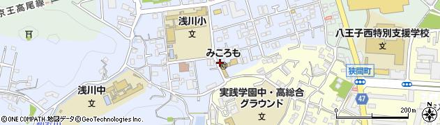 東京都八王子市初沢町1311周辺の地図