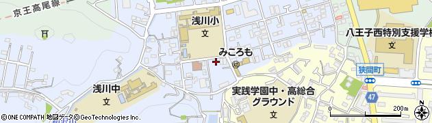 東京都八王子市初沢町1312周辺の地図
